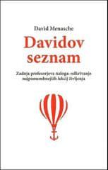 David Menasche: Davidov seznam