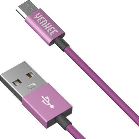 Yenkee YCU 221 PPE kabel USB/micro 1 m 45013673