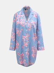 Lauren Ralph Lauren růžovo-modrá květovaná noční košile