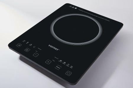 Vorner enojni indukcijski kuhalnik VIPS-0487, 2000 W
