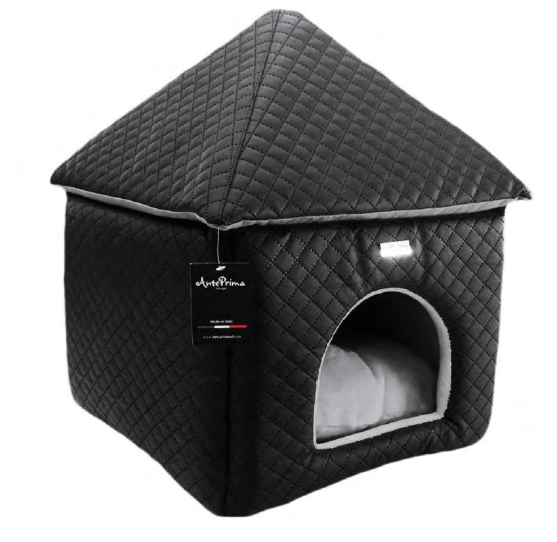 Pet Amour CHateaux domeček černý, hnědý, bílý, Velikost černý