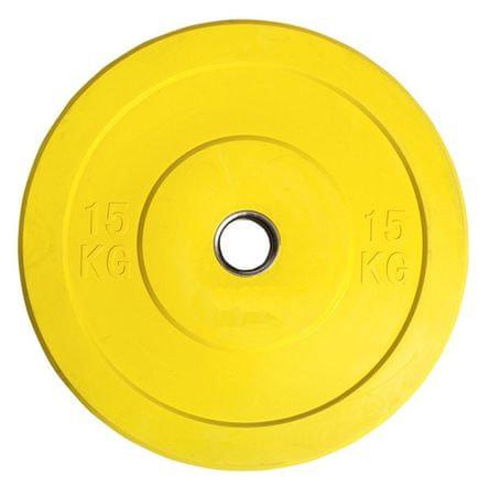 Ruilin olimpijske bumper uteži, 15 kg