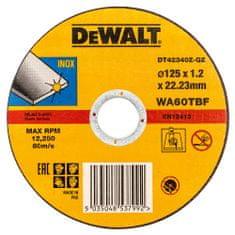DeWalt rezalna plošča za kovino DT42340Z