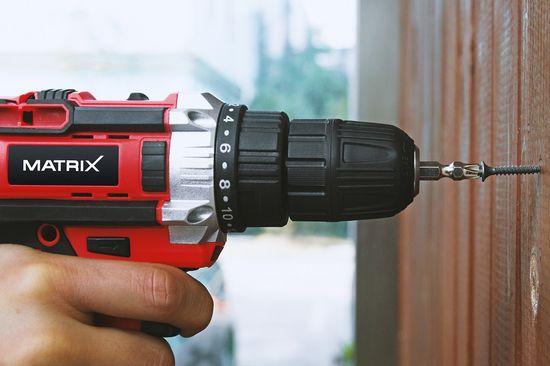 Matrix akumulatorski vrtalnik/vijačnik za suhomontažo AMS 20V Li X-One (511010573)