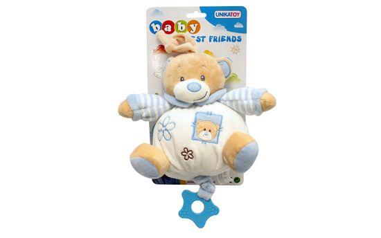 Unikatoy Ge. medo baby na potezanje, plavi, 25296