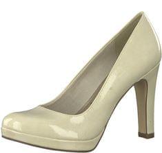 Tamaris Női alkalmi cipő1-1-22426-22-452 Cream Patent