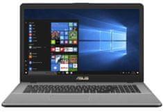 Asus prenosnik VivoBook X705UA-BX578T i3-8130U/4GB/SSD256GB/17,3HD+/W10H (90NB0EV1-M07270)
