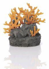 Oase Akváriová dekorácia BiOrb Lava rock with fire coral ornament