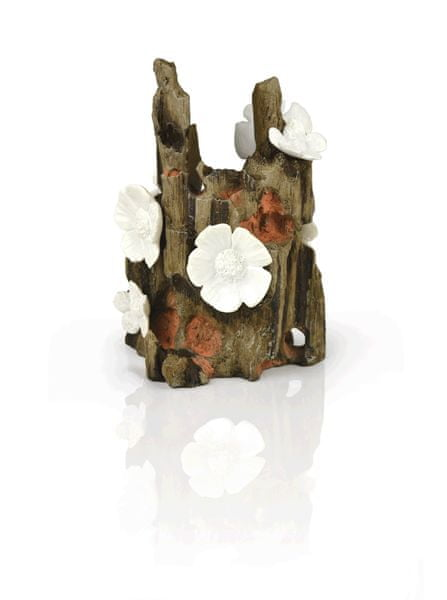 Oase Akvarijní dekorace hnědý kořen s květy