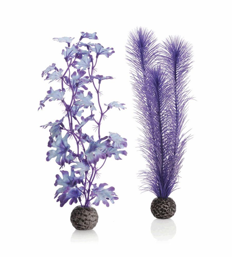 Biorb rostliny střední fialové 2 ks, 29 cm 46080