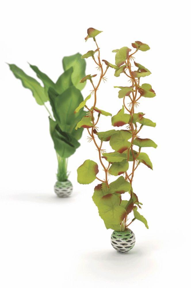 Biorb 46100 hedvábné rostliny střední, zelené, 2 ks, 29 cm