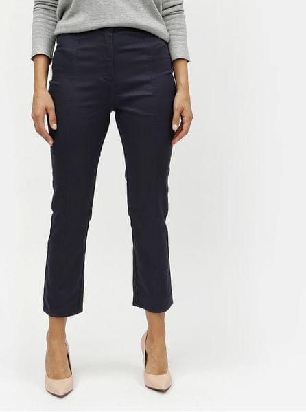 193845af25f ELVI tmavě modré kalhoty s vysokým pasem 48