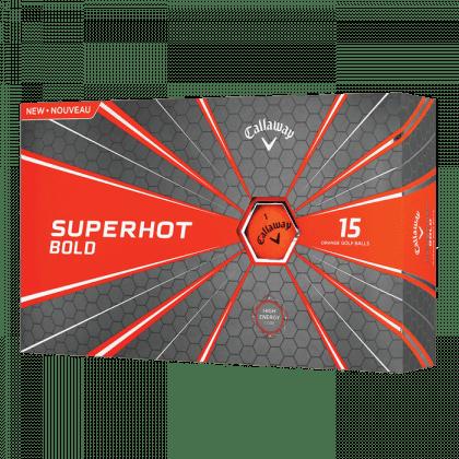 Callaway Superhot Bold Golf míčky