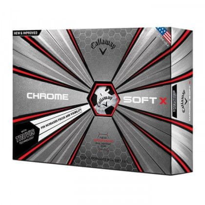 Callaway Chrome Soft X Truvis Golf míčky