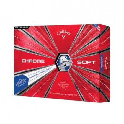Callaway Chrome Soft Truvis Golf míčky