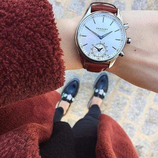 Kronaby Vodotěsné Connected watch Sekel S3122/1