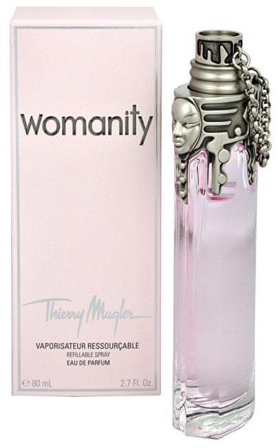 Thierry Mugler Womanity - EDP (plnitelná) 80 ml