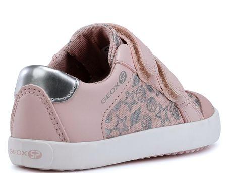 Geox dievčenské tenisky Gisli 24 ružová  bfb76b1190