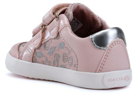 Geox dievčenské tenisky Gisli 21 ružová  4b8fa001a8