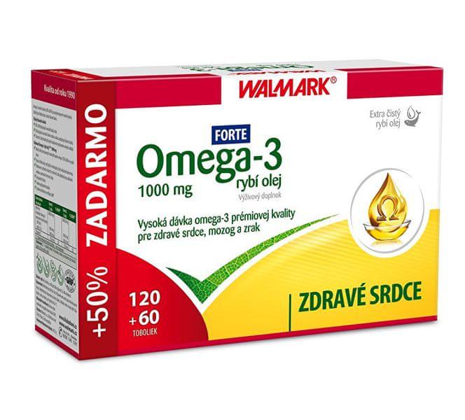 Walmark Omega 3 FORTE 120 + 60 tbl.