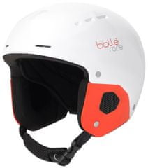 Bollé Quickster Shiny White Red, 49-52 cm
