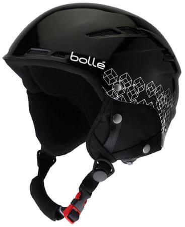Bollé B-Rent Shiny Black & Silver 58-61 cm
