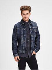 Jack&Jones tmavě modrá džínová bunda Jack & Jones