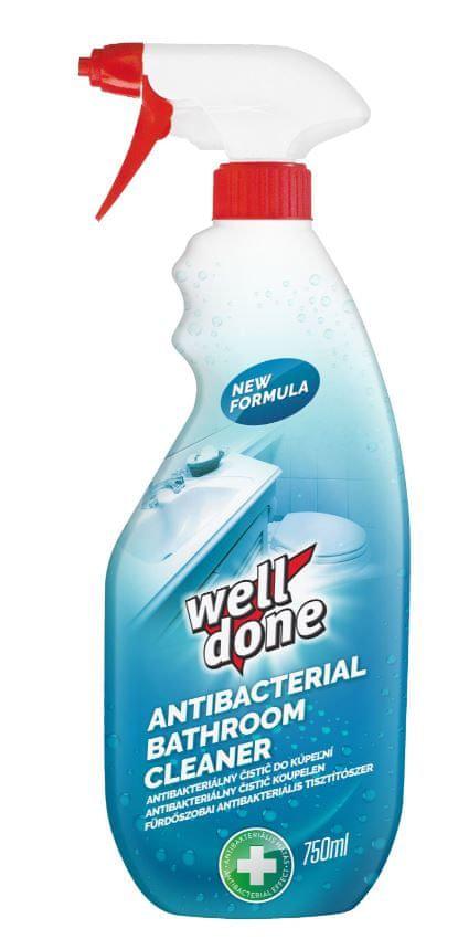 Well Done Antibakteriální sprej na koupelny 750 ml