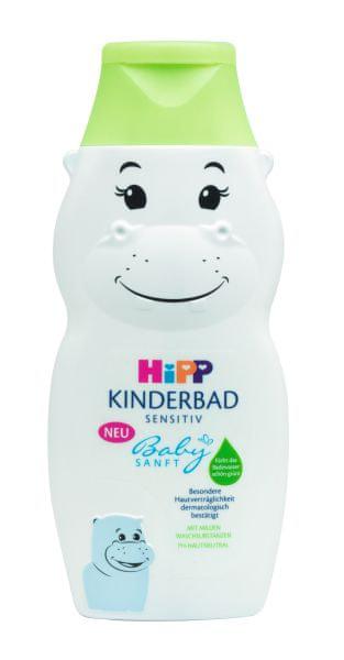 """HiPP Babysanft dětská koupel """"Hroch"""" 300 ml"""