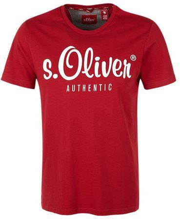 s.Oliver pánské tričko M červená