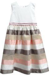Topo dievčenské šaty s pruhovanou sukňou 3512e226342