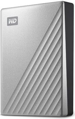 Western Digital My Passport Ultra 2TB, stříbrná (WDBC3C0020BSL-WESN)