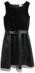 Topo dekliška obleka, 170, črna