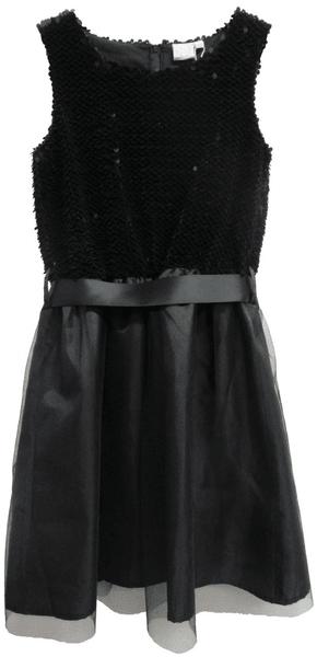 Topo dívčí šaty s flitry 164 černá