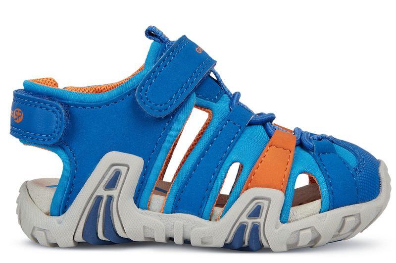 e06aa26bace Geox chlapecké sandály Kraze 26 modrá