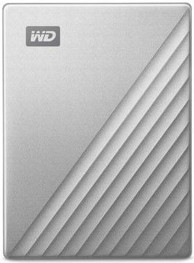 Western Digital My Passport Ultra for Mac 4TB, stříbrná (WDBPMV0040BSL-WESN)