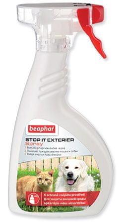Beaphar sredstvo za odganjanje psov in mačk Stop It Exterier, 400ml