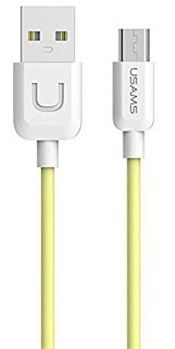 USAMS SJ098 Datový Kabel microUSB U Turn Yellow (EU Blister) 2433895