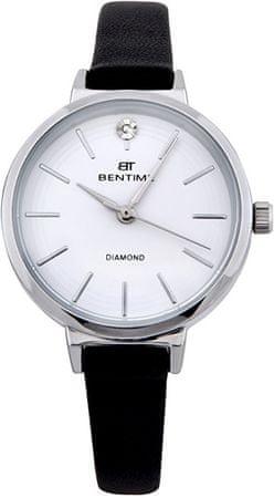 Bentime Dámské hodinky s diamantem 007-9MB-PT12024A