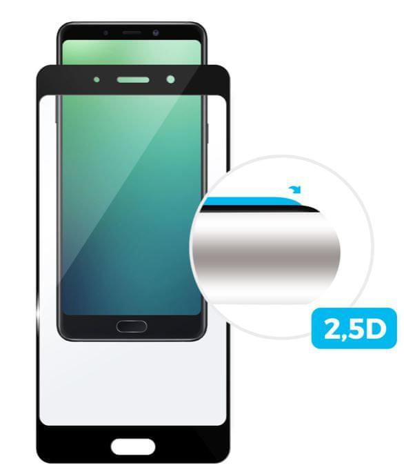 Fixed Ochranné tvrzené sklo pro Huawei Nova 3i, přes celý displej, černé, 0.33 mm FIXGF-338-BK