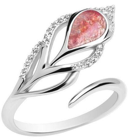 Preciosa Strieborný prsteň Penna 6105 69 striebro 925/1000