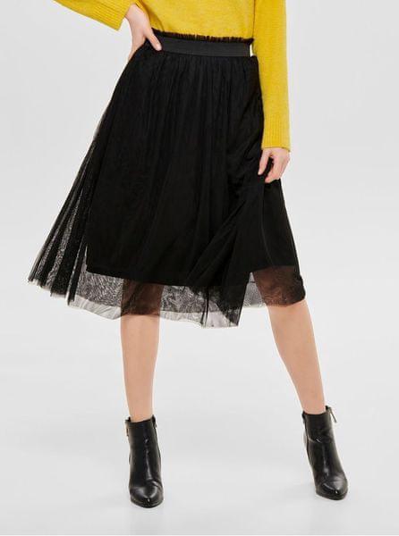 ONLY černá tylová sukně Mischa L