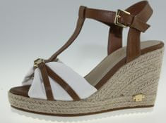 4ba593f0d414 Luxusné pánske značkové sandále hnedá