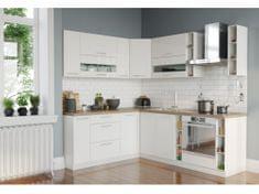 Rohová kuchyně TIPHANY 190x230, bílý lesk