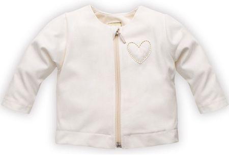 PINOKIO dekliška jakna, 62, bela