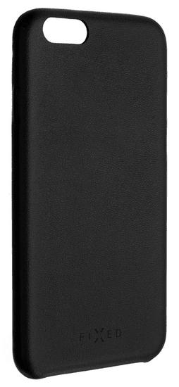 FIXED Zadní kryt Tale pro Samsung Galaxy J4+, PU kůže, černý FIXTA-351-BK