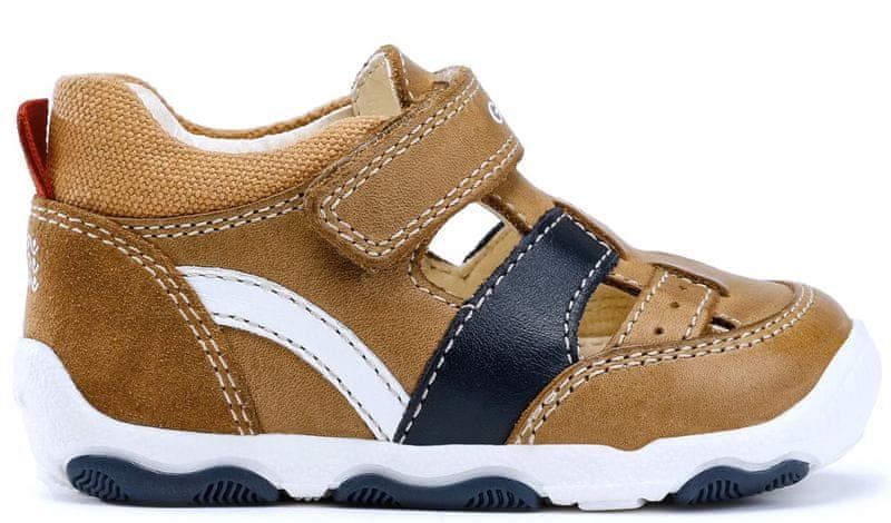 67b12ea8505 Geox chlapecké sandály New Balu 21 hnědá
