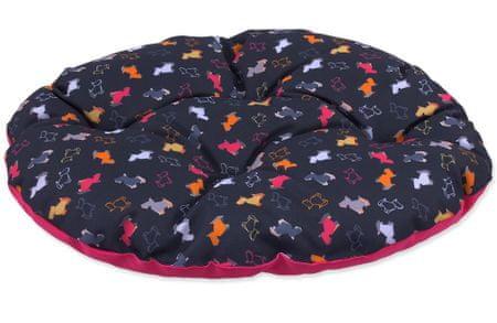 Dog Fantasy Kutyapárna origami mix fekete-rózsaszín, méret: XS