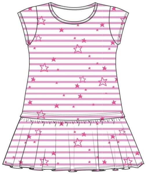 Losan dívčí šaty 98 růžová