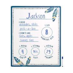 Pearhead Chalkboard tabla dojenčkovi prvi trenutki